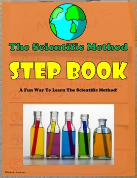 Scientific Method Step Book:  Video Instructions / Color Mixing Activity