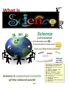 Scientific Method Story, Song, & Worksheet