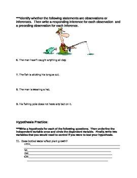 Scientific Method Studyguide