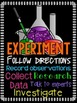 FREEBIE Scientific Method Subway Art Posters Grades 4-6 FREE