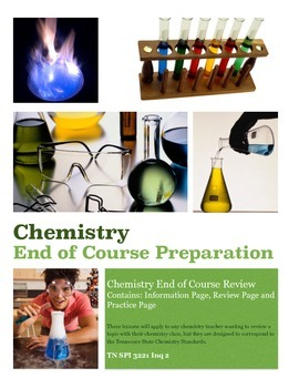 Scientific Method TN Chemistry Standard SPI 3221 Inq 2