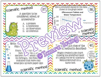 Scientific Method {Task Cards}