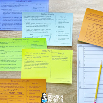 Scientific Method Task Cards by The Science Penguin | TpT
