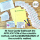 Scientific Method Task Cards