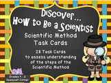 Scientific Method Task Cards - Science Files