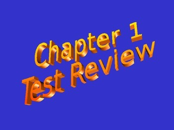 Scientific Method Test Review Game