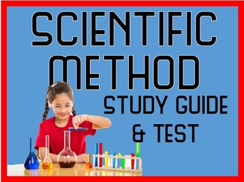 Scientific Method Test with Review