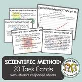 Scientific Method Task Cards - Distance Learning + DIGITAL LESSON