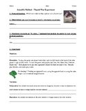 Scientific Method-Thumb War Experiment Activity Worksheet