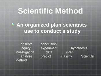 Scientific Method & Tools Review Powerpoint
