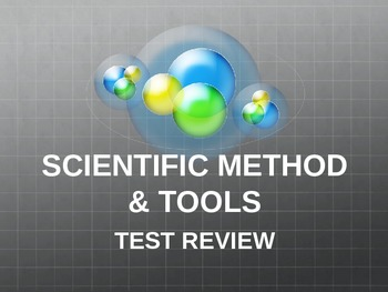 Scientific Method & Tools Review Powerpoint