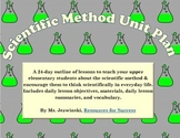 Scientific Method Unit Plan