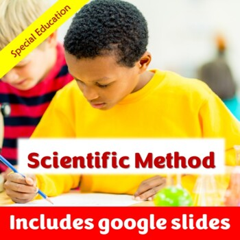 Scientific Method Unit for Special Education with complete lesson plans