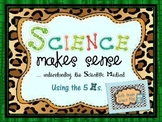 Scientific Method Unit with Experiment and More