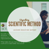 Scientific Method Unpacked (Presentation Slides + Printables)