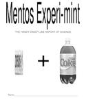 Scientific Method Using Diet Coke & Mentos