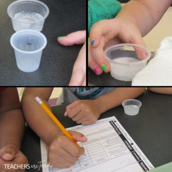 Scientific Method Using Effervescing Tablets