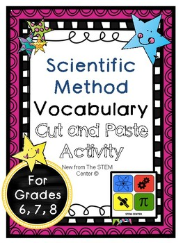 Scientific Method Vocabulary Activity