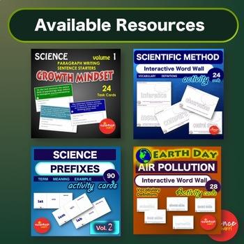 Scientific Method - Vocabulary Game - I have... Who has... NO PREP