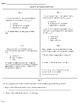 Scientific Method Warmup (Bell Ringers)