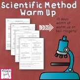 Scientific Method Warmup (Bell Ringers)