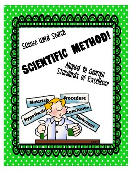 Scientific Method Word Search