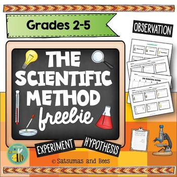 Scientific Method -Freebie