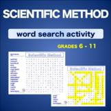 Scientific Method * WordSearch * Vocabulary* Warm Up * Bel