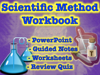 Scientific Method Workbook (Hypothesis, Variables, Experim