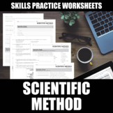 Scientific Method Worksheet | Printable | Digital | Distan