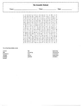 Scientific Method Worksheet Set with Keys