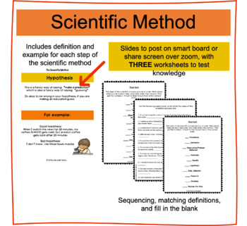 Scientific Method Example Worksheets Teaching Resources Tpt