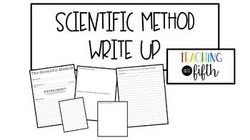 Scientific Method Write Up