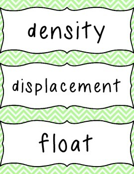 Scientific Method and Buoyant Boats- Capacity, Density and Buoyancy