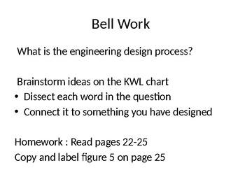 Scientific Method and Engineering Design Process