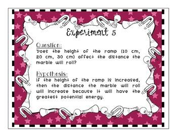 Scientific Method and Experimental Design Task Card Set