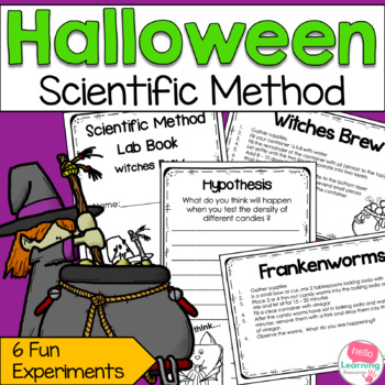 Scientific Method and Halloween- 6 Educational Experiments
