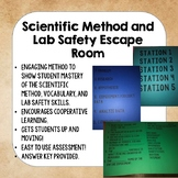 Scientific Method and Lab Safety Escape Room