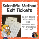 Scientific Method and Nature of Science Exit Tickets