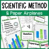 Scientific Method Experiment Paper Airplanes