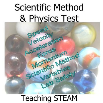 Scientific Method and Physics Test