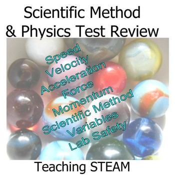 Scientific Method and Physics Test Review