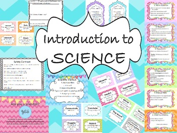 Science Vocabulary, Safety, Method