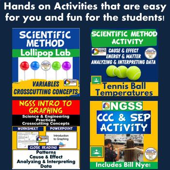 Scientific Method and Science Skills Bundle