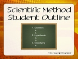 Scientific Method and Skills Student Outline Power Point