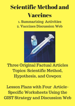 Scientific Method and Vaccines (Summarizing and Discussion Web)