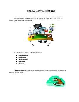 Scientific Method for 2nd Grade
