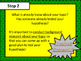 Super Hero Theme Scientific Method Elementary Grades Poster and Printables Set