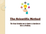 Scientific Method for Science Fair Powerpoint Presentation