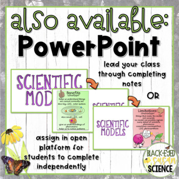 Scientific Models Doodle Notes (NGSS)